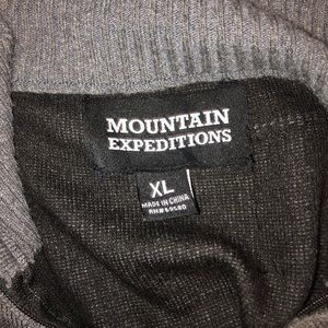 Mountain Expeditions Sweaters - Grey Quarter Zip Sweater